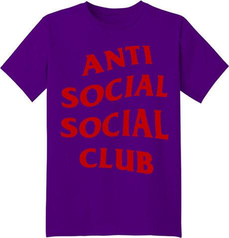 7ff1043d0 Заказать в интернет-магазине футболку Ñ  принтом Anti Social Social Club | Heyyou